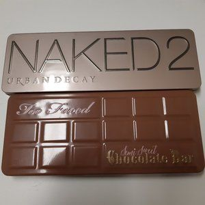 Urban Decay and Too Faced eyeshadow palette